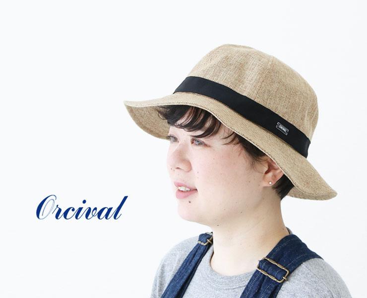コーディネートが広がるORCIVAL(オーシバル)の夏帽子が入荷!