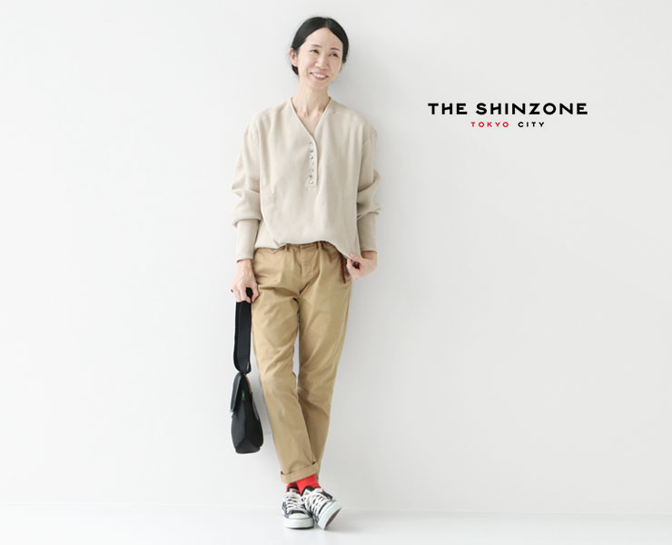 """SHINZONE(シンゾーン)@""""ケーブリンカーディガン""""/""""プルオーバー""""が入荷しました。"""