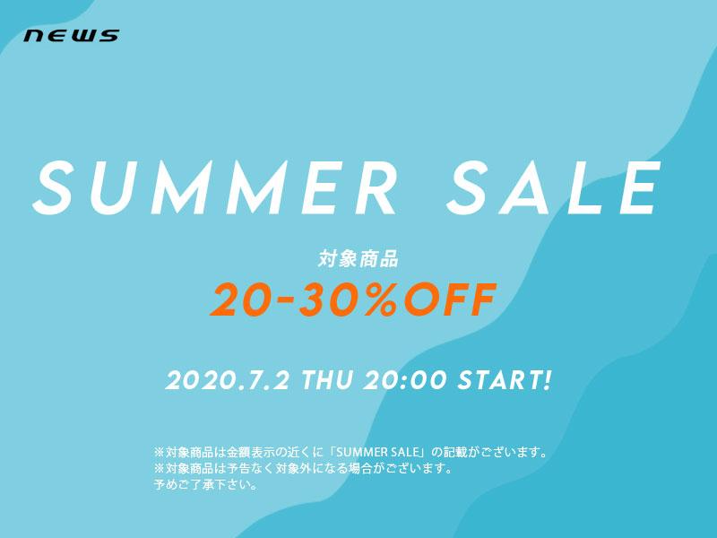 【セール開催中】 SUMMER SALE/対象アイテム20-30%OFF!!