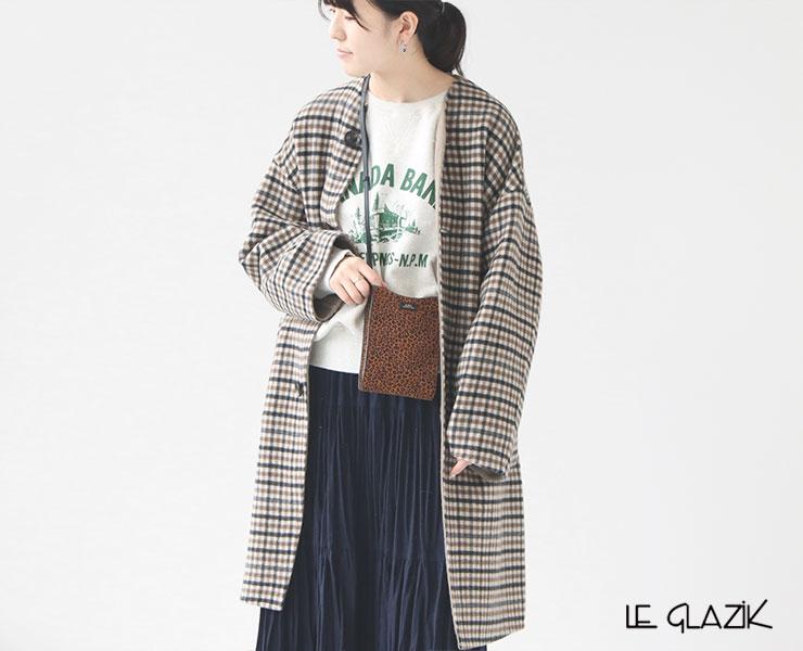 """昨年も大好評だった""""Le glazik(ル グラジック)リバーシブルコート""""がアップデートして登場!"""