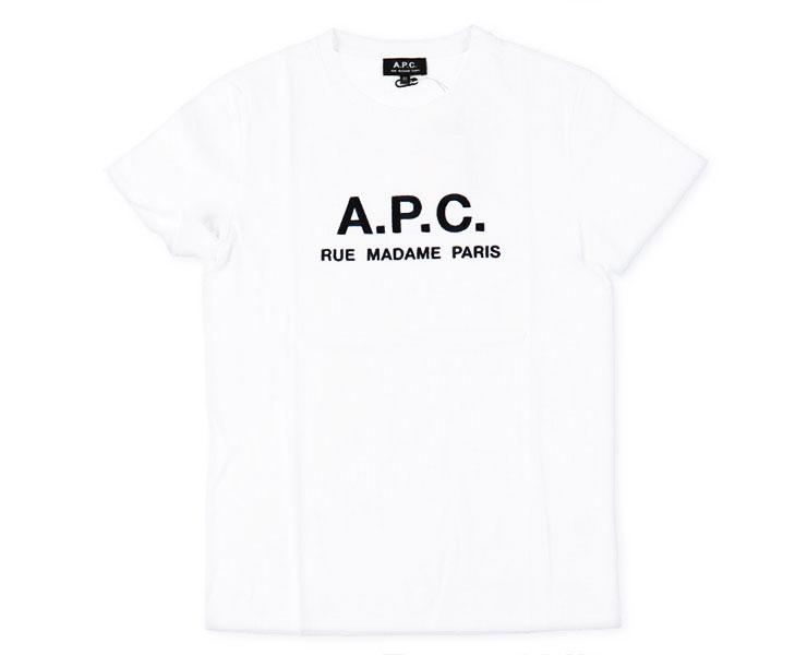 A.P.C.(アーペーセー) Rue Madame Tシャツ(25082193301)
