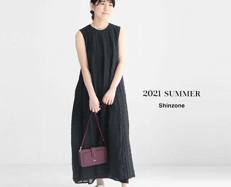 """SHINZONE(シンゾーン)2021年夏コレクション """"WHITE SUMMER"""""""