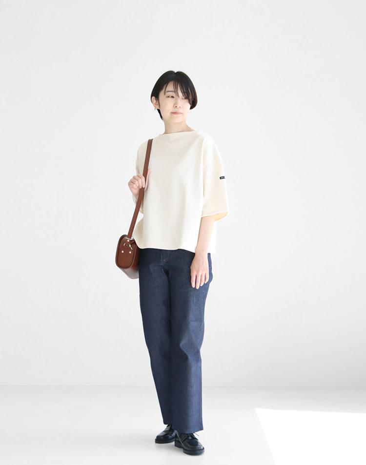 セントジェームス/5分袖カットソー