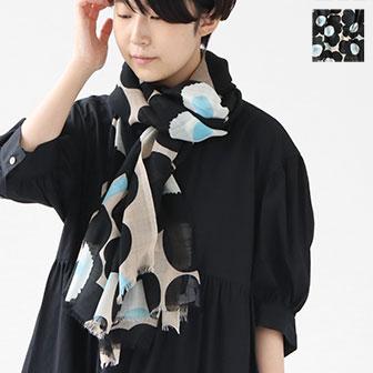 marimekko/Fiore Pieni Unikko スカーフ