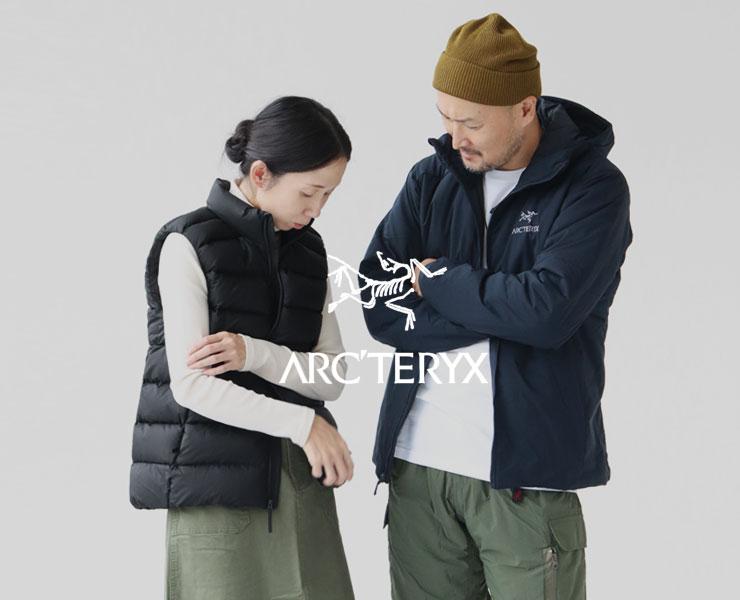 ARC'TERYX(アークテリクス) メンズ&レディース秋冬コーデ